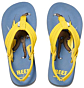 Reef Jonas Claesson Little Ahi Sandals - Surfing Sloth - Angle 2