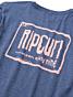 Rip Curl Native Glitch Long Sleeve T-Shirt - Navy - back