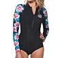Rip Curl Women's G-Bomb 1mm Bikini Cut Long Sleeve Spring Suit - Black