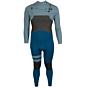 Hurley Advantage Plus 4/3 Chest Zip Wetsuit - Blue Force