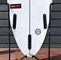 "Channel Islands Happy 6'2"" x 19 3/8 x 2 9/16 Used Surfboard - Fins"