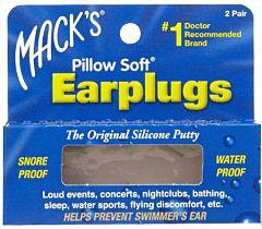Macks Pillow Soft Ear Plugs - 2 Pack