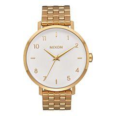 Nixon Women's Arrow Watch - All Gold/White