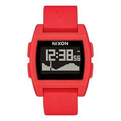 Nixon Base Tide Watch - Red