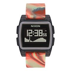 Nixon Base Tide Watch - Orange Jellyfish