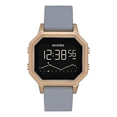 Nixon Women's Siren SS Watch -Light Gold/Grey