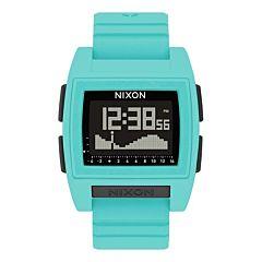 Nixon Base Tide Pro Watch - Seafoam