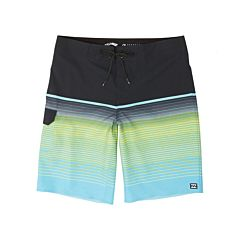 Billabong Youth All Day Stripe Boardshorts - Aqua - front