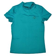 Billabong Women's Core Loose Fit Short Sleeve Rashguard - Pacific