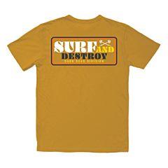 Dark Seas Breakwall Old Time T-Shirt - Arrowwood - front