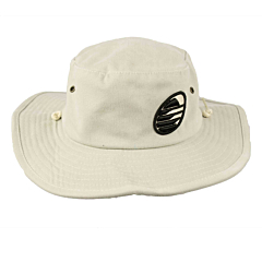 Cleanline Embroidered Rock Bucket Hat - Stone/Black