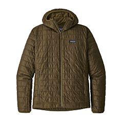 Patagonia Nano Puff Hoody Jacket - Cargo Green