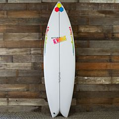 Channel Islands Fish Beard 6'2 x 20 3/8 x 2 3/4 Surfboard - Top