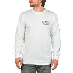 Cleanline Anchor 2.0 Long Sleeve T-Shirt - White