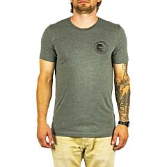 Cleanline Silhouette Circle T-Shirt - Deep Heather