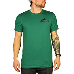 Cleanline Treeline Seaside T-Shirt - Evergreen