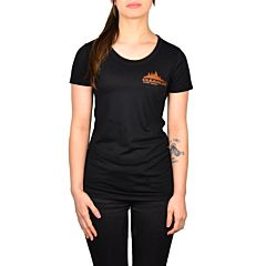 Cleanline Women's Treeline Cannon Beach Top - Solid Black Triblend