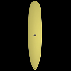 CJ Nelson Designs Colapintail Thunderbolt Surfboard - Yellow - Deck