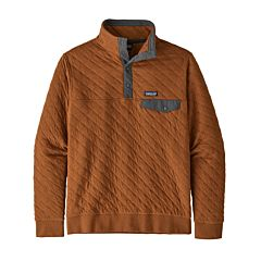 Patagonia Organic Cotton Quilt Snap-T Sweatshirt - Earthworm Brown - main