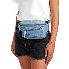 RVCA Women's Recruit Bum Bag - Denim - Hip