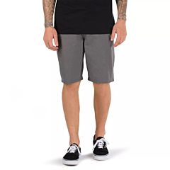 Vans Dewitt Shorts - Heather Gravel - front