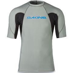 Dakine Heavy Duty Snug Short Sleeve Rash Guard - Carbon