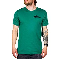 Cleanline Treeline Cannon Beach T-Shirt - Evergreen