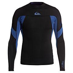 Quiksilver Syncro 1mm Long Sleeve Jacket - Black/Iodine Blue