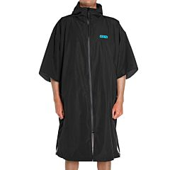 FCS Shelter All Weather Poncho - Black - Front