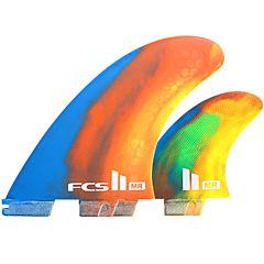 FCS II Fins MR PC Twin + 1 Fin Set