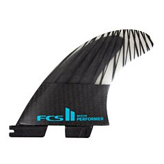 FCS II Performer PC Carbon Large Tri Fin Set
