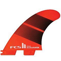 FCS II Fins Accelerator Neo Glass Small Tri Fin Set - Tang Gradient