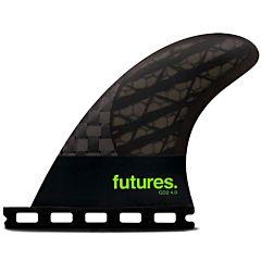Futures Fins QD2 4.0 Blackstix Quad Rears Fin Set