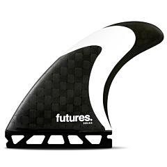 Futures Solus HC Tri Fin Set - Carbon/Black/White