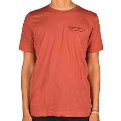 Cleanline Salmon T-Shirt - Rust