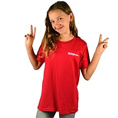 Cleanline Youth New Rock T-Shirt - Red