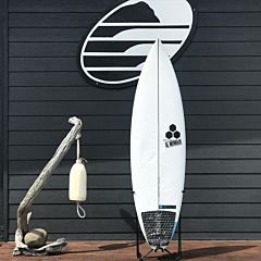 "Channel Islands Happy 6'2"" x 19 3/8 x 2 9/16 Used Surfboard - Top"