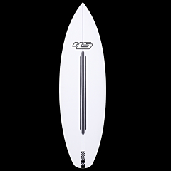 Hayden Shapes White Noiz EPS Grom Surfboard - Deck