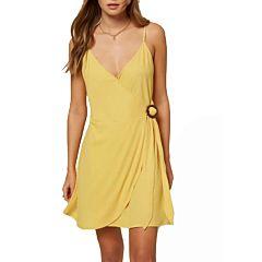 O'Neill Women's Ivara Dress - Gold - front