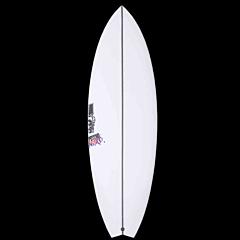 JS Psycho Nitro Swallow Tail Surfboard - Deck