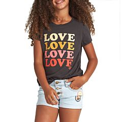 Billabong Youth So Much Love T-Shirt - off Black - front
