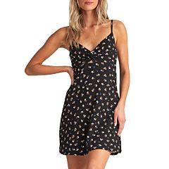 Billabong Women's Love Me Knot Dress - Black - front