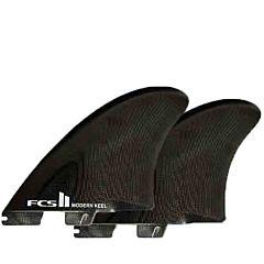 FCS II Fins Modern Keel Twin Fin Set