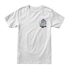 RVCA Mushy Kid T-Shirt - White - front