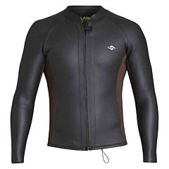 Billabong Revolution Glide 2mm Front Zip Long Sleeve Jacket - Black