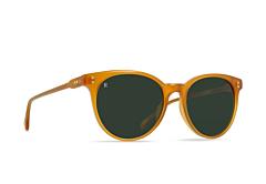 Raen Women's Norie Sunglasses - Honey/Bottle Green - Side Angle