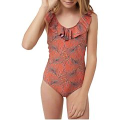 O'Neill Youth Girls Prism One-Piece Swimsuit - Orange
