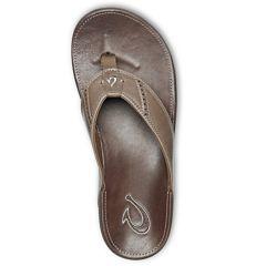 Olukai Nui Sandals - Mustang/Espresso - Top