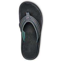 Olukai Hokua Sandals - Dark Shadow/Black - Top