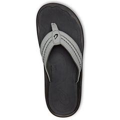 Olukai Hokua Sandals - Sharkskin/Dark Shadow - Top